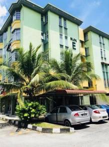 KULAI JOHOR Apartment Taman Permata - 100% Loan Bank ( 3 Bedroom Unit)