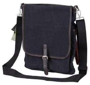 B6071 Trendy Multi-Purpose Porter Sling Bag Black