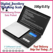 Jewellery Weighing Scale Max 500g/0.01g (29)