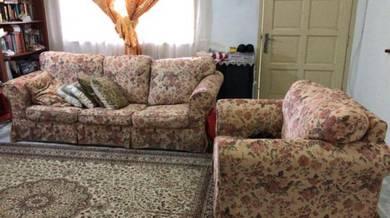 Sofa 3 Seater Untuk Dijual