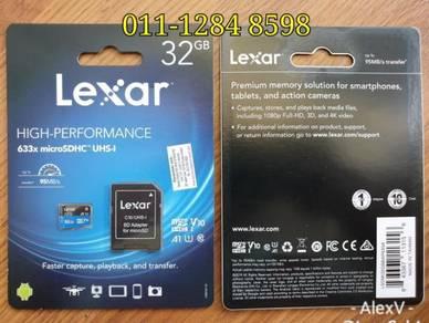 Ori Lexar High Speed Memory Card 1 Year Warranty