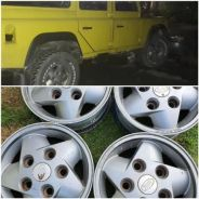 Land rover discovery or defender rim original
