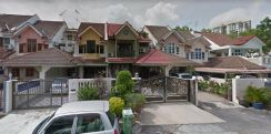 Solok Bukit Jambul 1 (2 storey terrace) Opposite Taman Lip Sin
