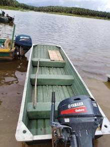 Aluminium boat bujuk(only boat)