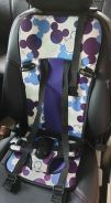 Portable simple car baby child safety seat