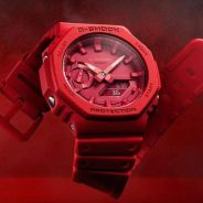 GSHOCK TMJ RED OUT GA2100-4A NEW FULL SET 100% ori