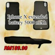 Iphone X Extended Battery 5000mAh