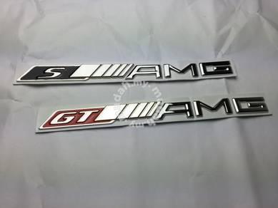 Mercedes Benz GT AMG S AMG Metal Emblem