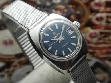 547) rado vintage automatic ladies watch