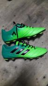 Adidas Ace 17.4 Football Boots and Nike ball