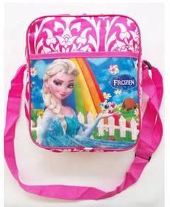 Frozen anna elsa large sling bag