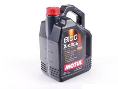 Motul Engine Oil Fully 5L 8100 X-Cess 5W40