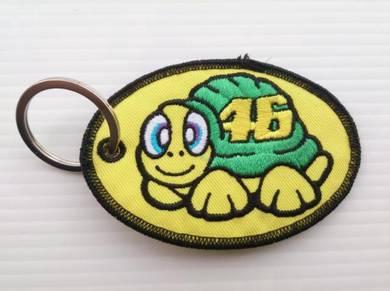 Keychain Turtle Rossi Kain Sulam