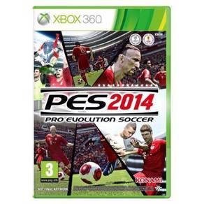 Pes 2014 Xbox 360 game