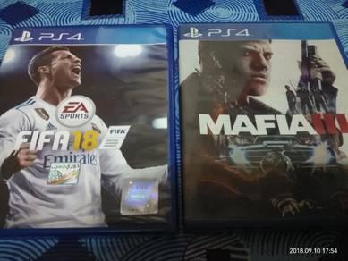 Fifa 2018 & Mafia3