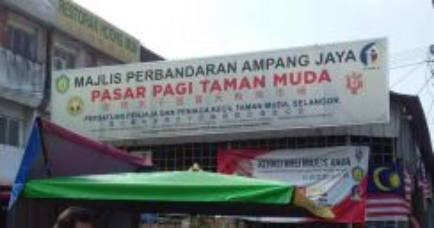 3 Sty Shop Taman Muda Ampang For Sale