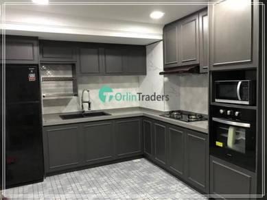 Kitchen cabinet danau setapak promo melamine 3999