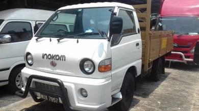 Inokom / wooden cargo / 1 ton / 10ft / 2011