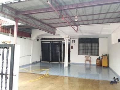 Single storey terrace house, Tmn Indah Jaya, Lukut, PD, N9