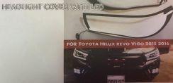 Toyota Hilux Revo Rocco Headlamp Led Cover AG