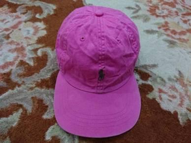 Polo ralph lauren small pony caps pink 1