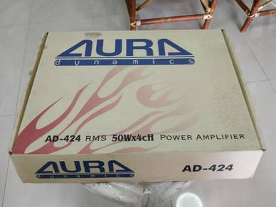 Aura Dynamics AD-424 Amp (Used)