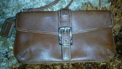 Coach Small Leather Wrislet