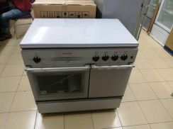 Set Dapur 4 Burner With Gas Oven Singer