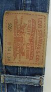 Levis 505 kepala kain made in usa s 34
