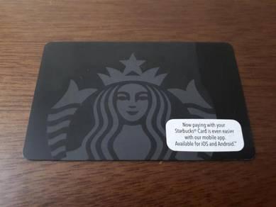 Starbucks Malaysia Black Siren Card