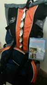 New hiking bag.