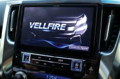 Vellfire Alphard 30 Head Unit Alpine Japan EX10