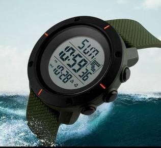 SKMEI 1213 Men Big Dial Sports Watches Multifuncti
