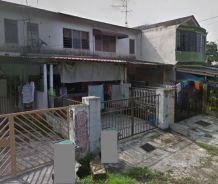 Taman Tun Aminah Low Cost 2 Storey (Below Market Value) Fully Tiles