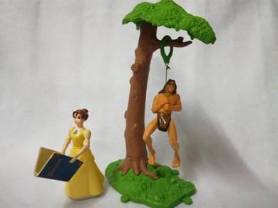 1999 McDonald Tarzan & Jane set