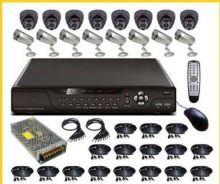 4 chl/8chl/16chl cctv for factory specialist