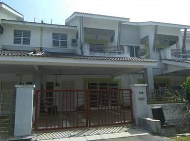 Rumah teres 2 tingkat 24' x 65' di Seri Iskandar