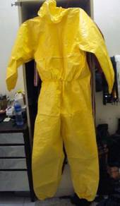 Chemical suit -disposal