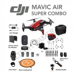 NEW DJI Mavic Air Super Combo FREE ND8 ND16 Filter