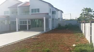 Malacca : Taman Nuri Freehold Semi-D huge land corner (Direct owner)