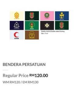 [NEW] Bendera Persatuan - Kadet Polis