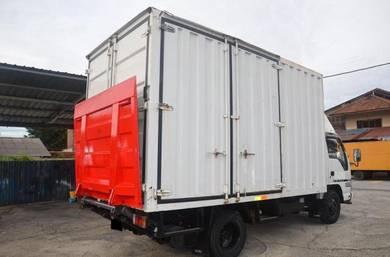 Isuzu NPR66ULH Kontena Box Van Tail Lift
