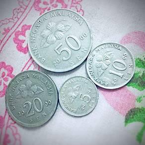 Tahun 2000 Coins Malaysia