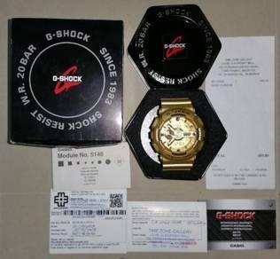 G shock gold limited