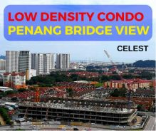 New Launch !!! Low Dense With Partial Furnish [ Penang Bridge View ]