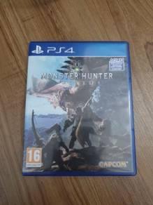 Used monster hunter world for ps4