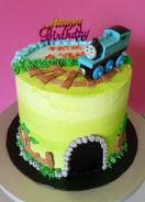 Cartoon themed Cake