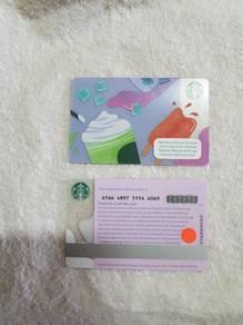 Starbucks Malaysia 2019 Summer Popsicle Card