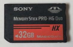 Sony Memory Stick Pro Hg Duo 32GB