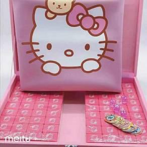 LIMITED HelloKitty 4 PPL Mahjong Set